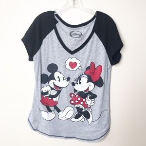 Disney Mickey and Minnie T-Shirt